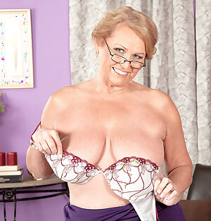 Horny MILF granny