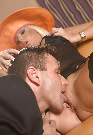 Filthy Hungarian mature lady in stockings Jordan Sparx gets fucked hardcor