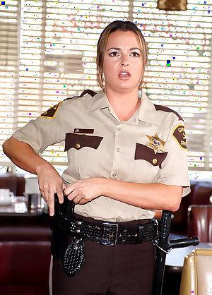 Wicked Site presents sexy cop Devinn Lane