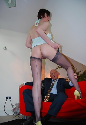Nasty Brit wife is lusting for a different cock this time and gets it