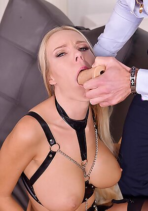 Czech slut Florane Russell gets her horny holes stuffed