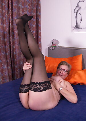 German grandma doing a lover younger than her son