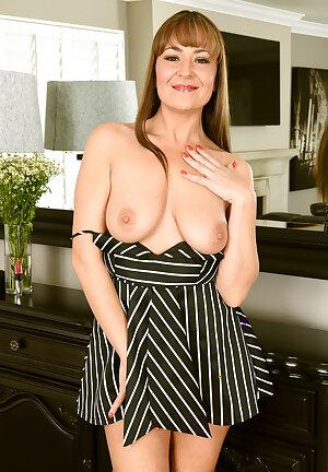 Elexis Monroe striped dress
