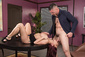 Big tits Monique Alexander fucking at work