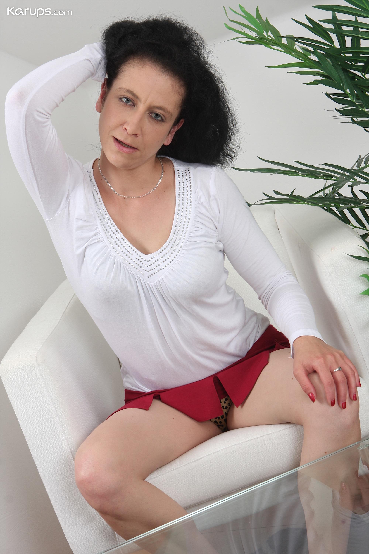Hairy older woman